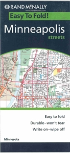 Picture of Minneapolis, MN Folded EasyFinder Map