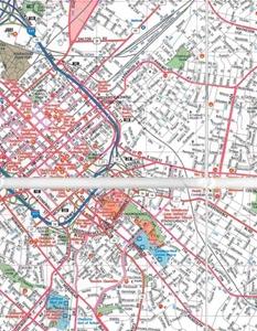 Picture of Charlotte Folded EasyFinder Map