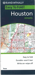 Picture of Houston Folded EasyFinder Map