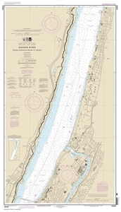 Picture of 12345 - Hudson River - George Washington Bridge To Yonkers Nautical Chart