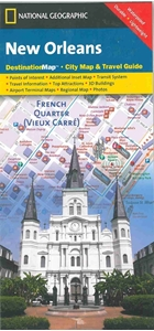 Picture of New Orleans Folded City Map & Travel Guide