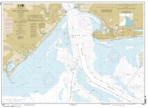 Picture of 12402 - New York Lower Bay - Northern Part Nautical Chart