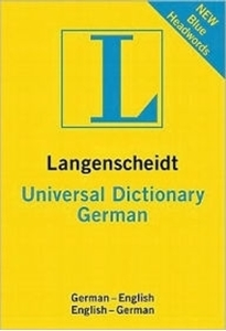 Picture of Langenscheidt Universal Dictionary-German