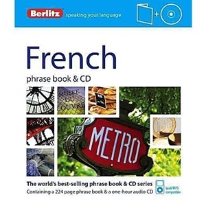 Picture of Berlitz French Phrase Book & CD