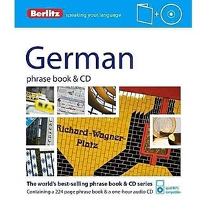 Picture of Berlitz Greman Phrase Book & CD