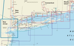 Picture of Click Here For an Easy To Read Long Island Sound Nautical Chart Index