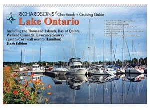 Picture of Richardsons' Chartbook & Cruising Guide Lake Ontario