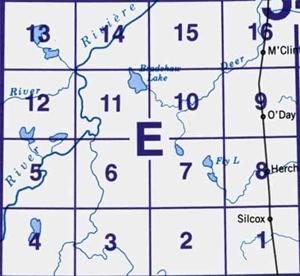 Picture of 54 E (1:50k)