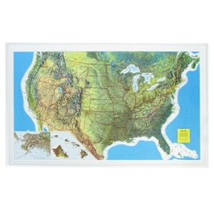 Picture of U.S. Raised Relief Map