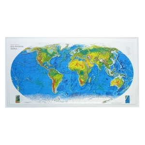 Picture of World Raised Relief Map
