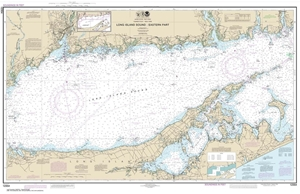 Picture of 12354 - Long Island Sound - Eastern Part Nautical Chart