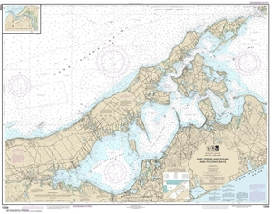 Picture of 12358 - New York - Long Island, Shelter Island Sound And Peconic Bays Nautical Chart