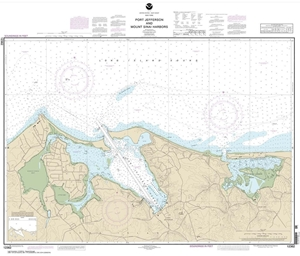 Picture of 12362 - Port Jefferson And Mount Sinai Harbors Nautical Chart