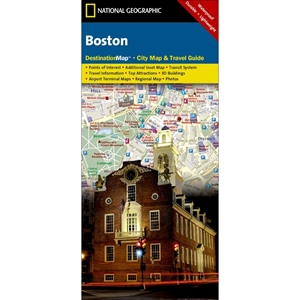 Picture of Boston Folded City Map & Travel Guide