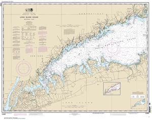 Picture of 12363 - Long Island Sound - Western Part Nautical Chart