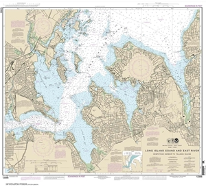 Picture of 12366 - Long Island Sound And East River - Hempstead Harbor To Tallman Island Nautical Chart