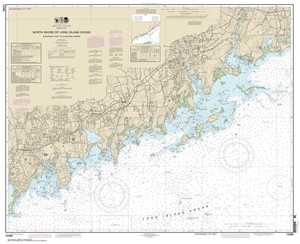 Picture of 12368 - North Shore of Long Island Sound - Sherwood Point To Stamford Harbor Nautical Chart