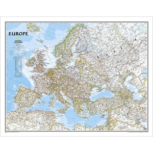 Picture of National Geographic Europe Wall Map Enlarged