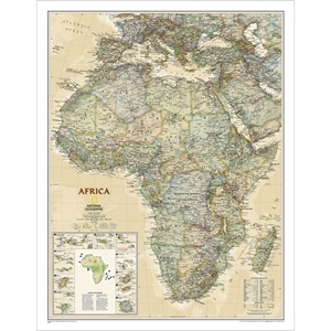 Picture of National Geographic Africa Executive Wall Map