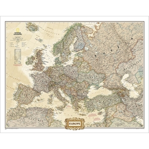 Picture of National Geographic Europe Executive Wall Map