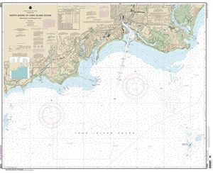 Picture of 12369 - North Shore of Long Island Sound - Stratford To Sherwood Point Nautical Chart