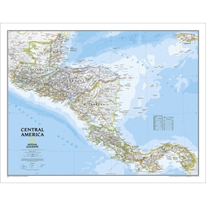 Picture of National Geographic Central America Wall Map