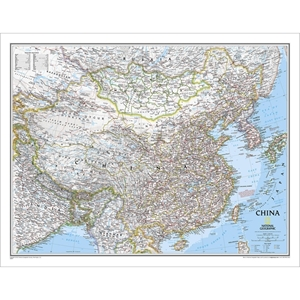 Picture of National Geographic China Wall Map