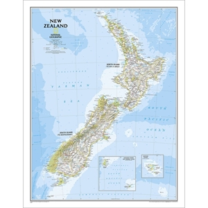 Picture of National Geographic New Zealand  Wall Map