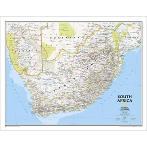 Picture of National Geographic South Africa  Wall Map