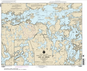 Picture of 14991 - Boundary Waters - Lac La Croix Nautical Chart