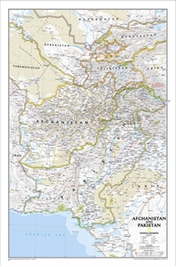 Picture of National Geographic Afghanistan, Pakistan  Wall Map
