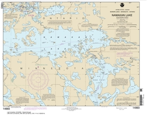 Picture of 14993 - Boundary Waters - Namakan Lake - Eastern Part Nautical Chart