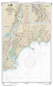 Picture of 12370 - North Shore of Long Island Sound - Housatonic River And Milford Harbor Nautical Chart