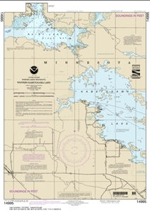 Picture of 14995 - Boundary Waters - Western Kabetogama Lake Nautical Chart