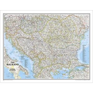 Picture of National Geographic Balkans Wall Map