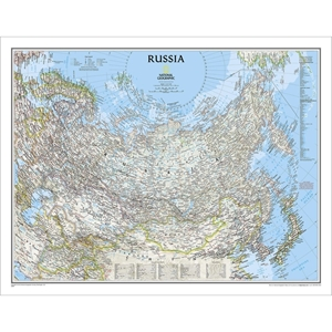 Picture of National Geographic Russia Wall Map