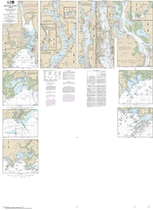 Picture of 12372 - Long Island Sound - Watch Hill To New Haven Harbor Nautical Chart