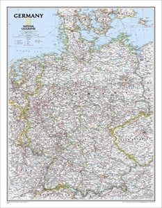 Picture of National Geographic Germany Wall Map