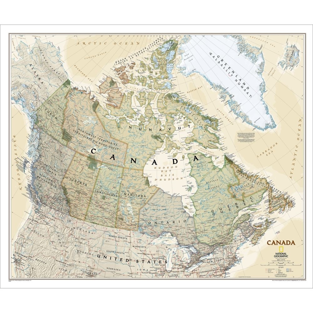 map of canada geography pdf