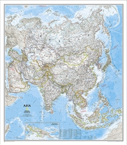Picture of National Geographic Asia Wall Map