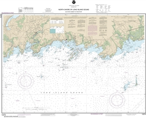 Picture of 12373 - North Shore of Long Island Sound - Guilford Harbor To Farm River Nautical Chart