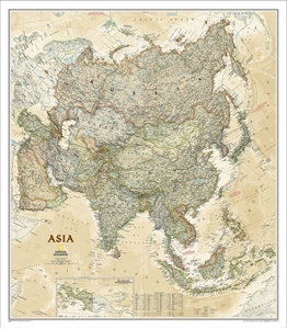 Picture of National Geographic Asia Executive Wall Map