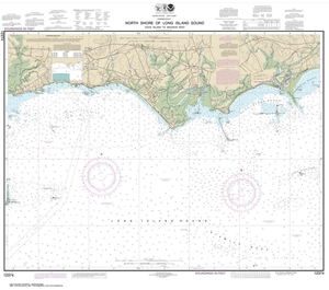Picture of 12374 - North Shore of Long Island Sound - Duck Island To Madison Reef Nautical Chart