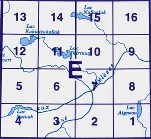 Picture of 24 E (1:50k)