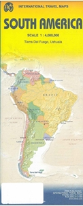 Picture of International Travel Maps - South America