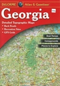 Picture of Georgia Atlas & Gazetteer (Paperback)