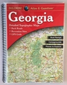 Picture of Georgia Atlas & Gazetteer (Laminated)