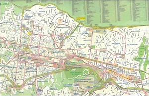 Picture of International Travel Maps - Caracas
