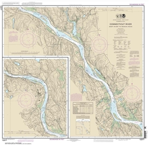 Picture of 12377 - Connecticut River - Deep River To Bodkin Rock Nautical Chart