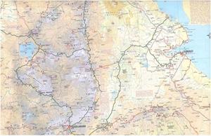Picture of International Travel Maps - Ethiopia & Eritrea